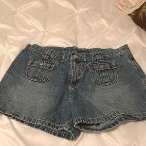 Ralph Lauren Blue Jean Shorts